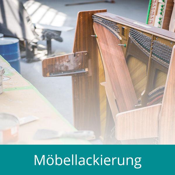 Möbellackierung bei Kammer GmbH in Bochum